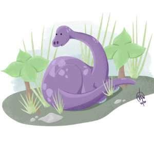 The Purple Dinosaur